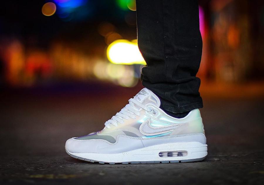 Nike Air Max 1 Got Em blanche et transparente (3)