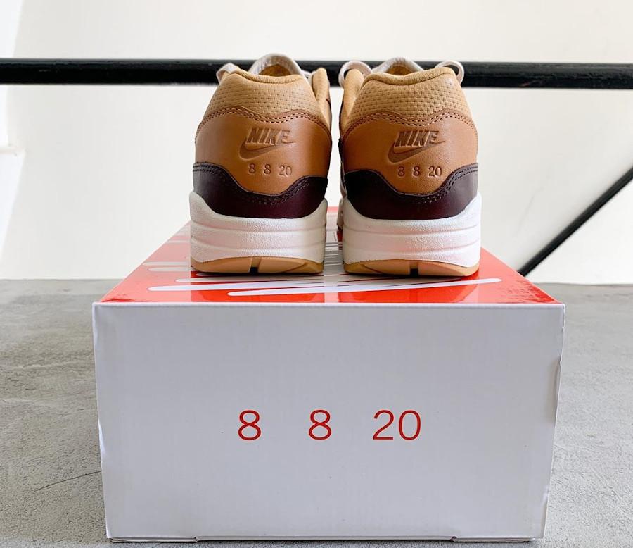 Nike Air Max 1 Got Em marron et beige (1)