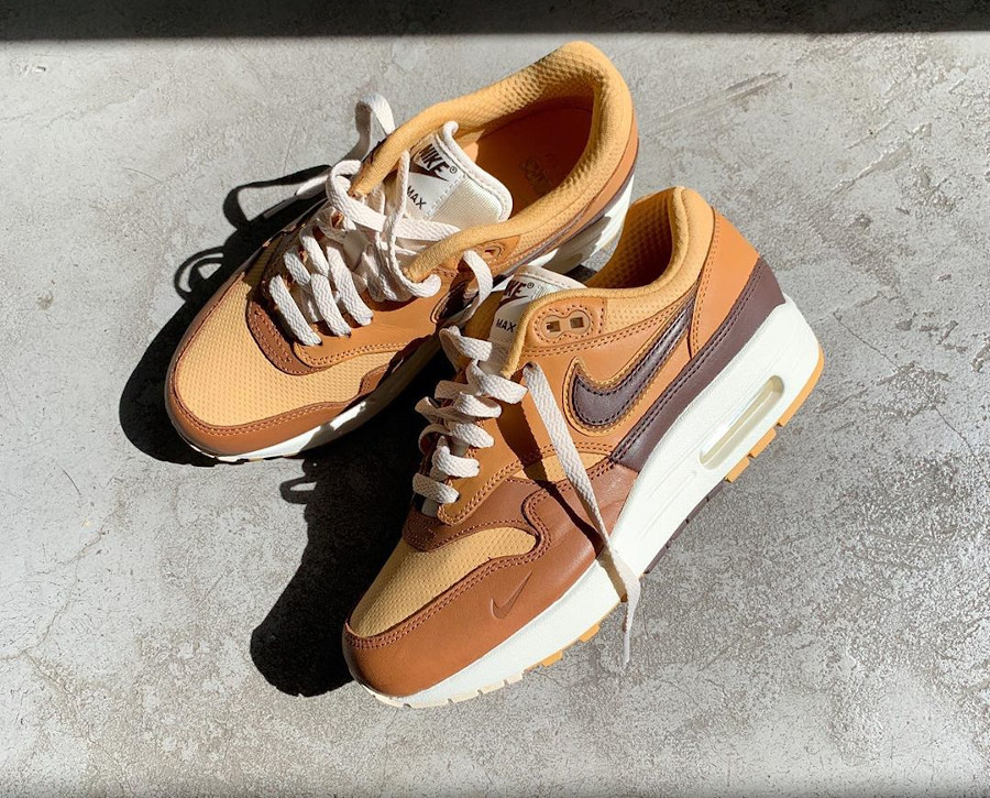 Nike Air Max 1 Got Em marron et beige (2-1)