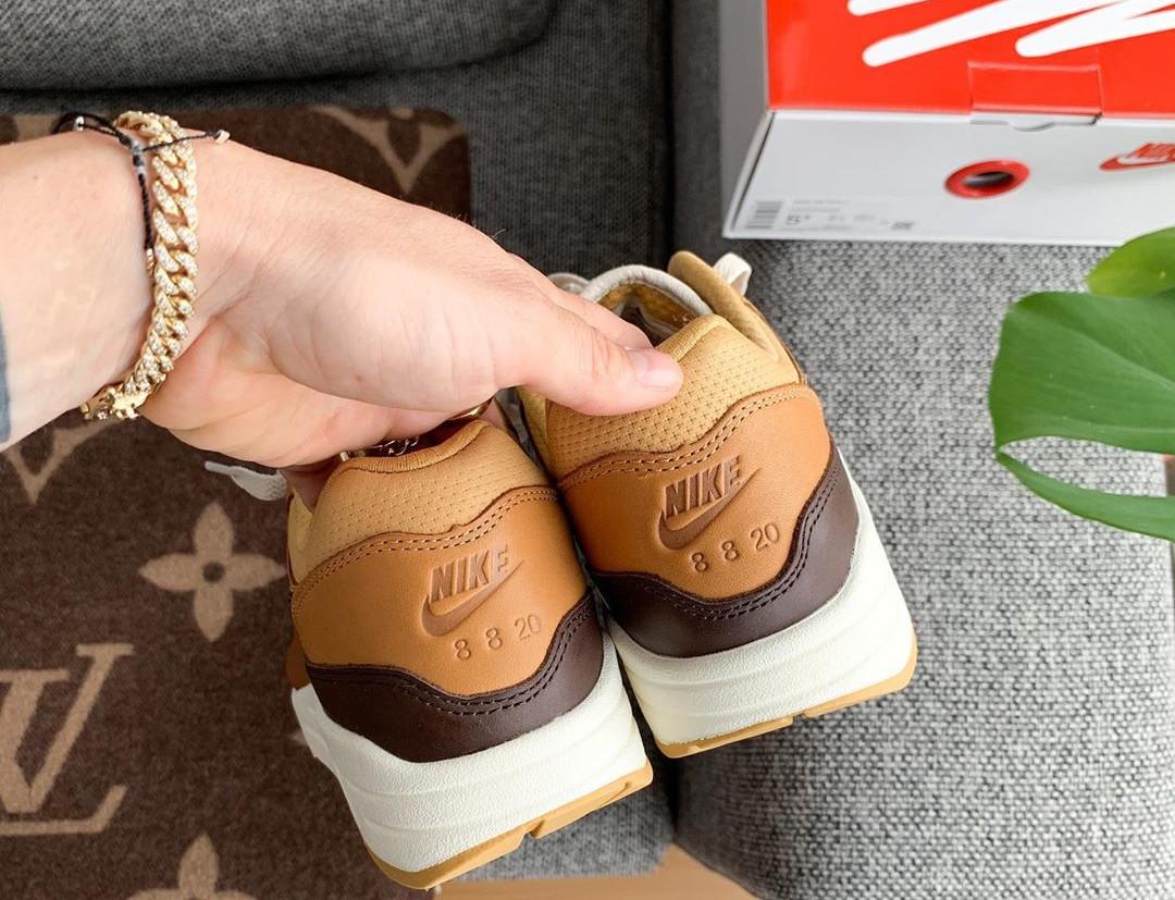 Nike Air Max 1 Got Em marron et beige (2)