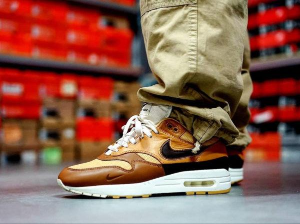 Nike Air Max 1 Got Em marron et beige (4-1)