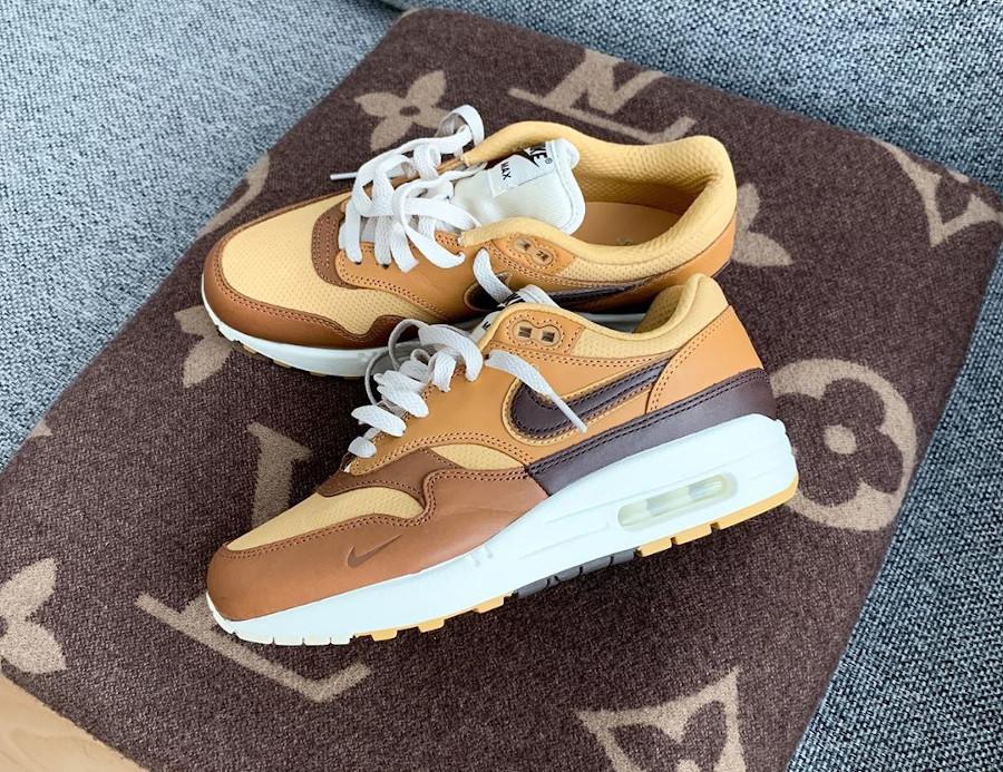 Nike Air Max 1 Got Em marron et beige (4)
