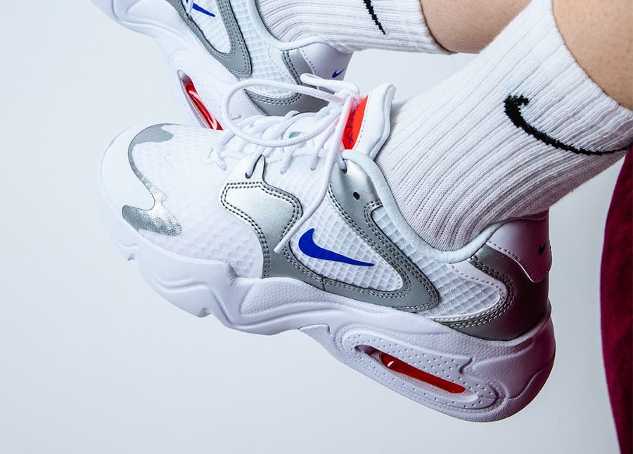 Nike Air Max 2X Silver Metallic en solde