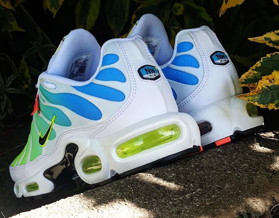 Nike Air Tuned 1 2020 bleu vert fluo (6)