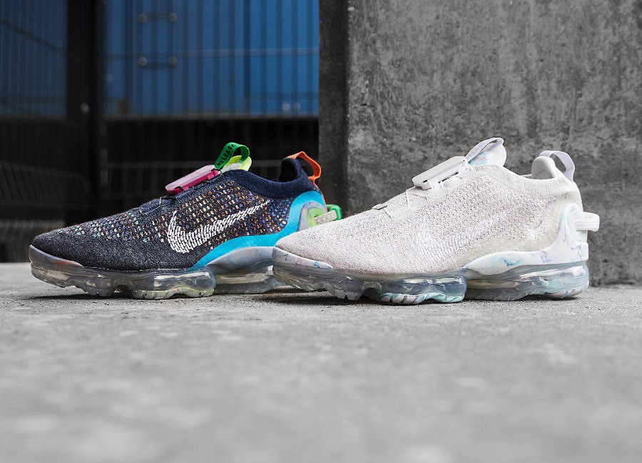 Nike Air Vapormax 2020 Flyknit grise homme (1)