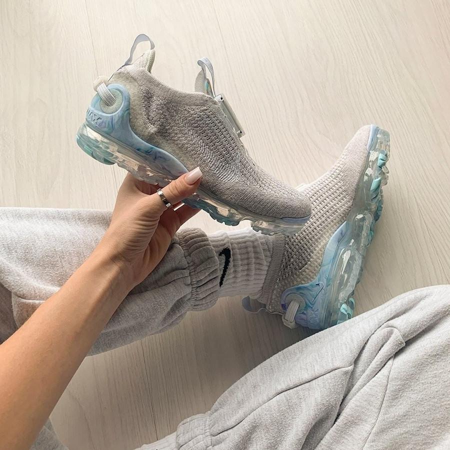 Nike Air Vapormax 2020 femme blanche et grise (3)