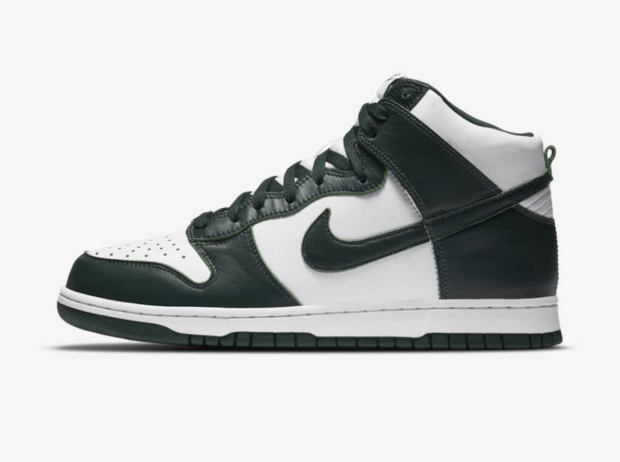 Nike Dunk High Spartan Green date de sortie