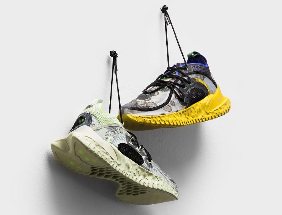 Nike Flow 2020 SE ISPA Medium Olive & Spruce Aura