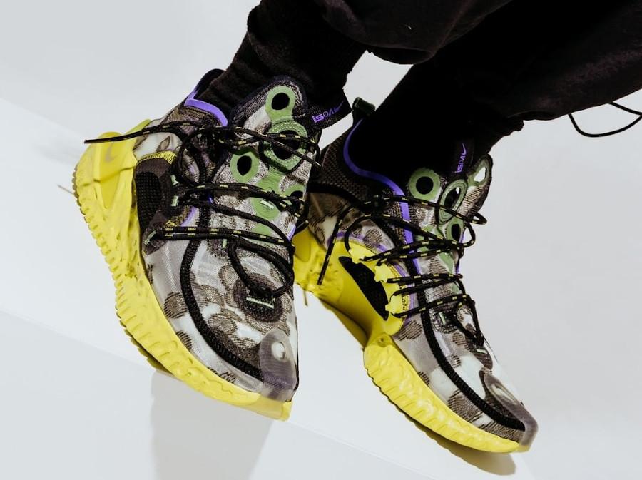 Nike Flow Protect Adapt grise et jaune fluo CI1474 200 (5)