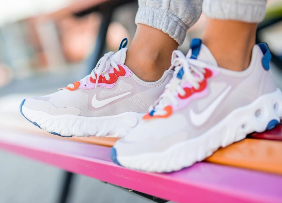 Nike React Art3mis Platinum Violet en solde