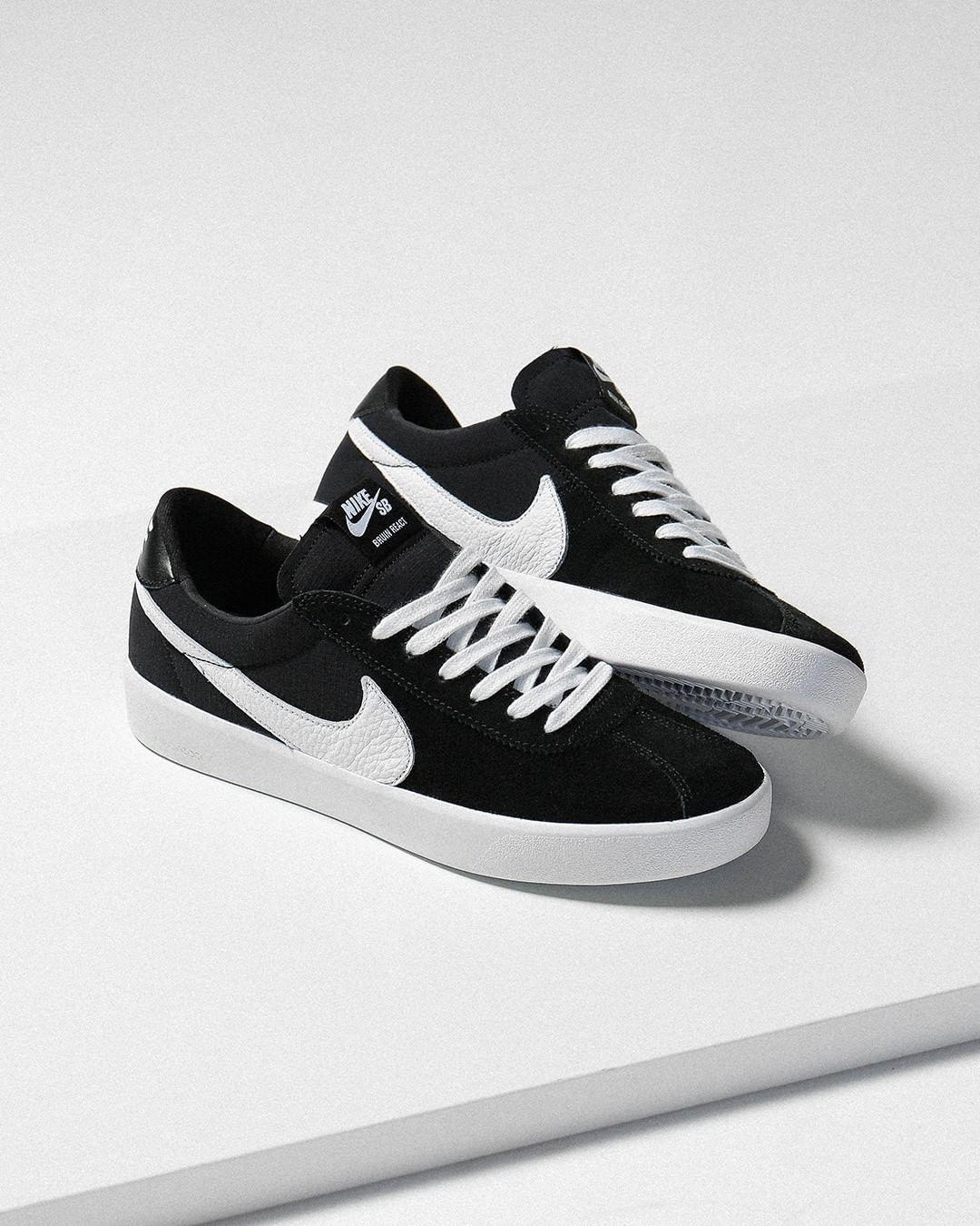 Nike React Bruin SB noire et blanche (0)