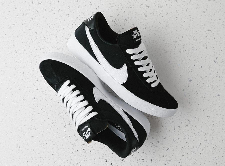 Nike React Bruin SB noire et blanche (1)