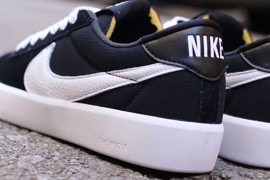 Nike React Bruin SB noire et blanche (4)