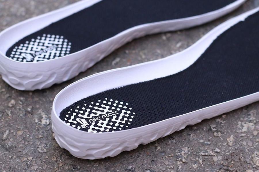 Nike React Bruin SB noire et blanche (6)