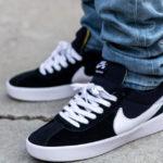 Nike Bruin React SB Black White