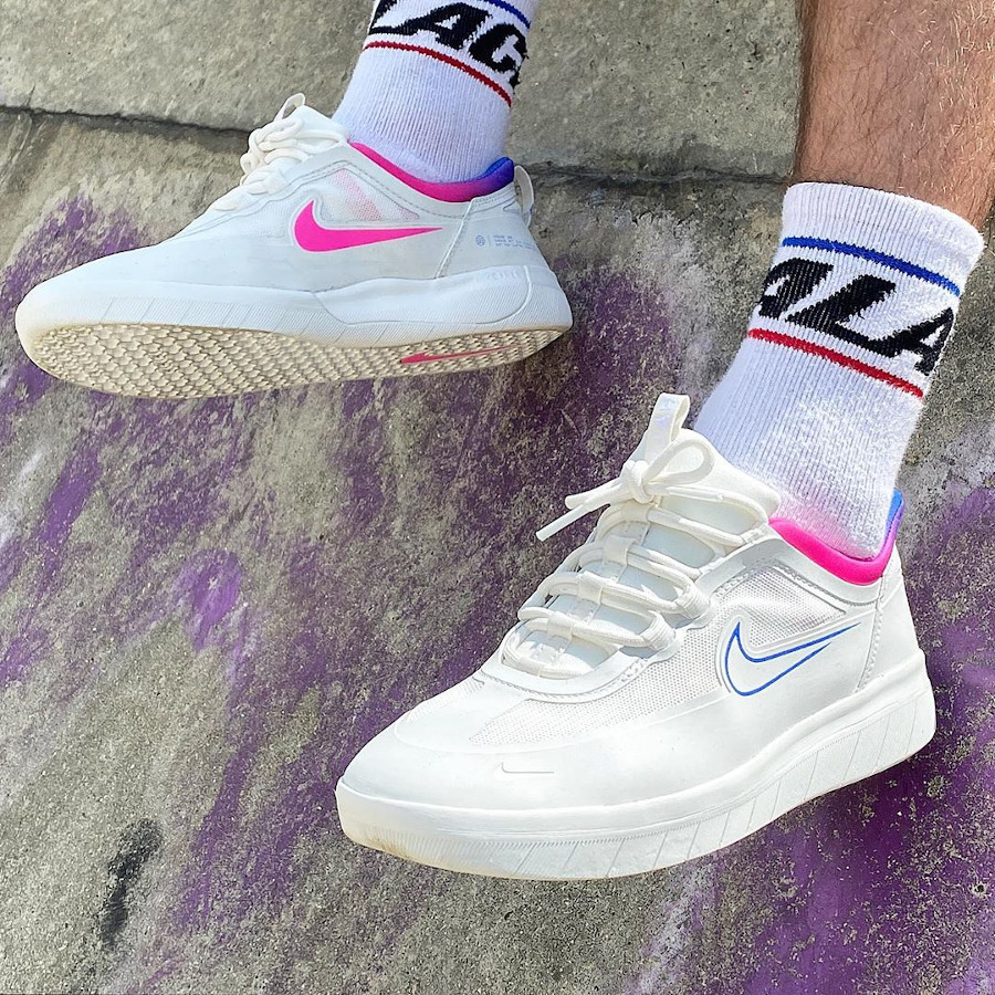 Nike SB Nyjah Free 2 Tokyo 2020 Olympics on feet