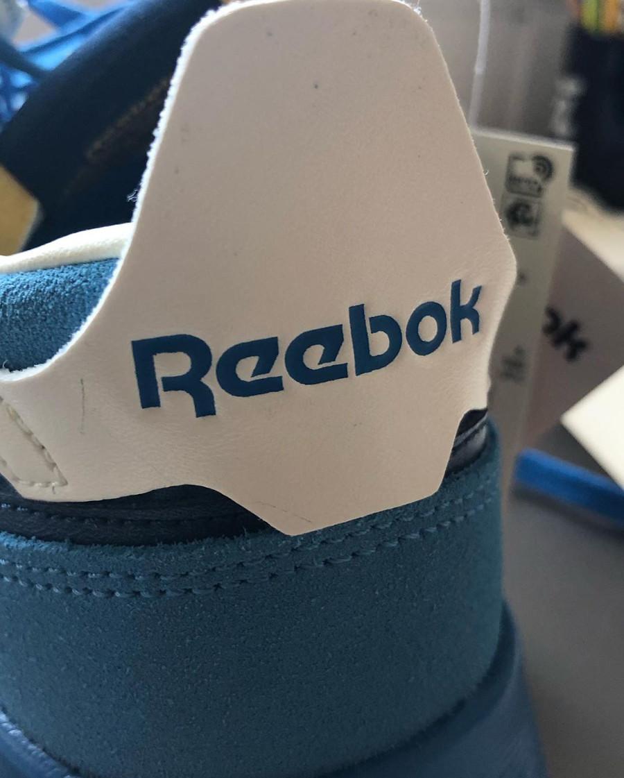 Reebok CL Legacy deconstruct bleu jaune et rouge (4)