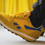Reebok Classic Leather AZ Fierce Gold Collegiate Gold Blue Blast