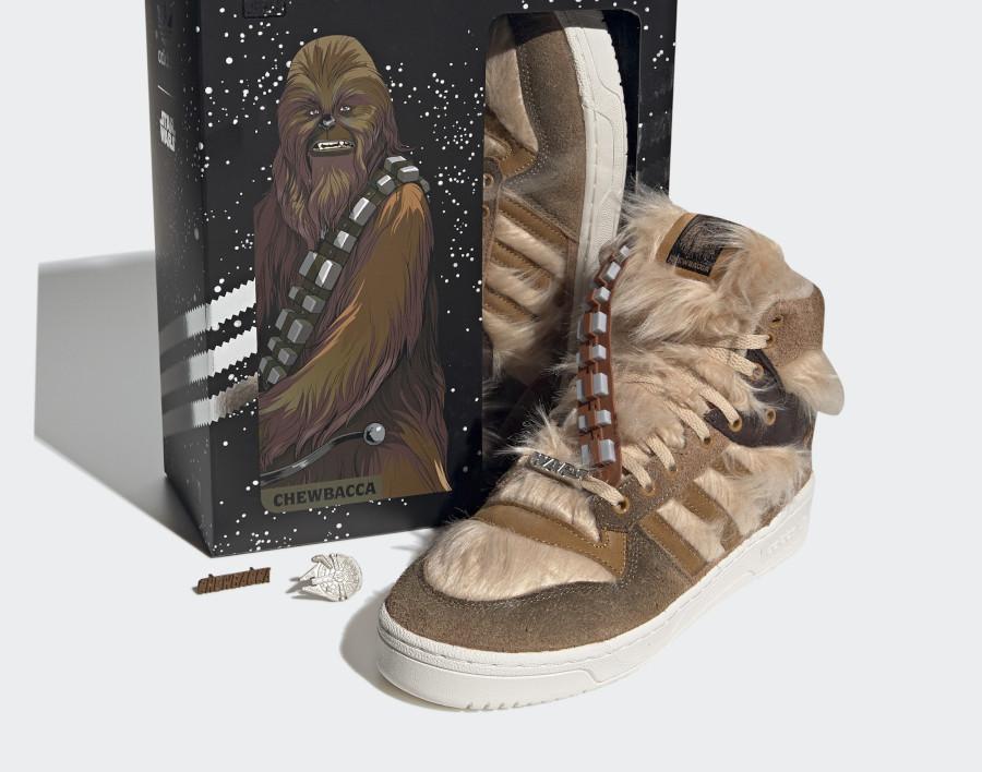 Star Wars x Adidas Rivalry Hi Chewbacca