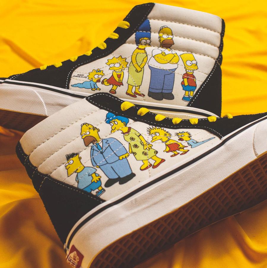Vans SK8 HI toute la famille Simpsons VN0A4BV617E (2)