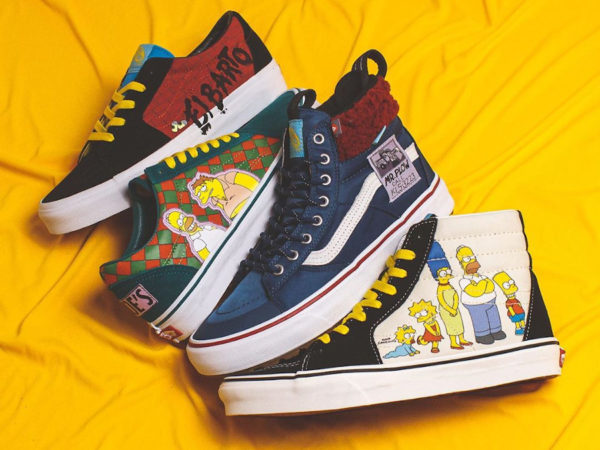 chaussures Vans Les The Simpsons 2020 (1)