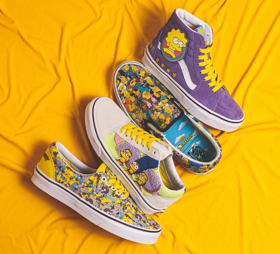 chaussures Vans Les The Simpsons 2020