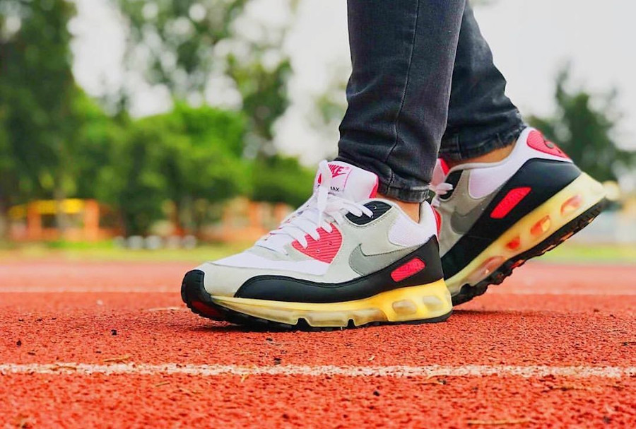 2006 Nike Air Max 90 360 Infrared ONe Time Only mauespejel