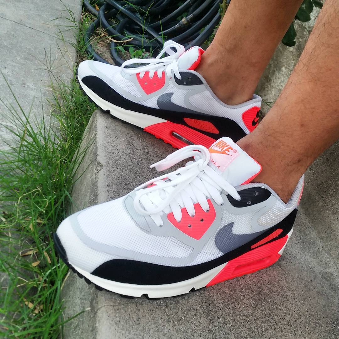 2013 - Nike Air Max 90 Tape Infrared - @hking45