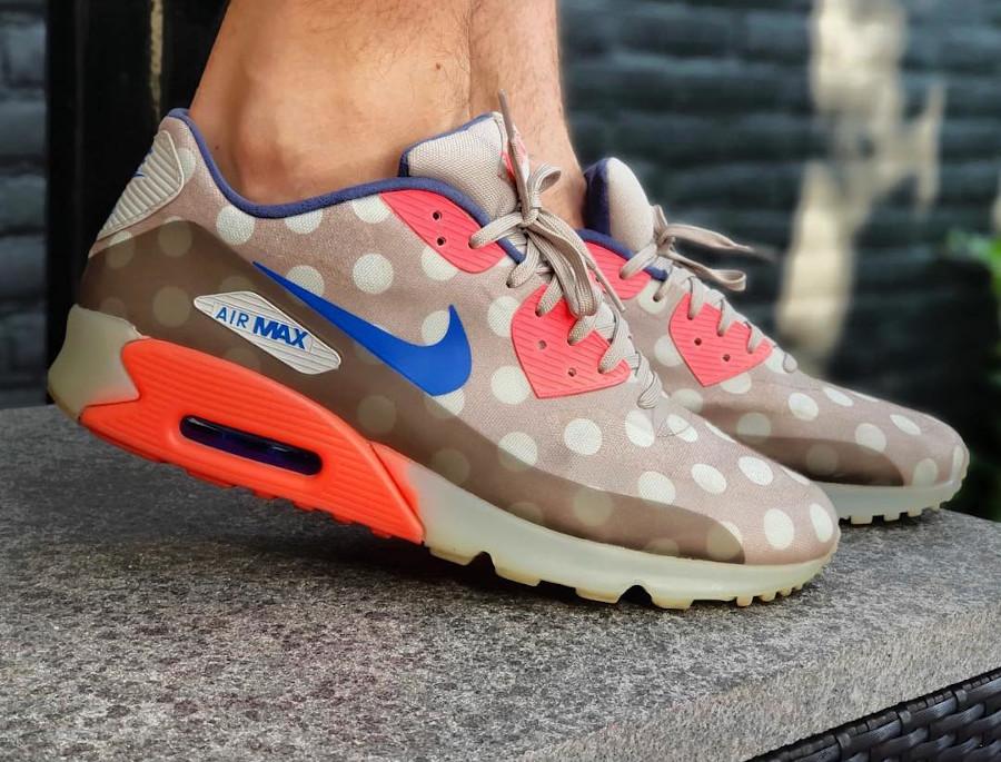 2014 - Nike Air Max 90 Ice NYC Polka Dots - @bjornmulder