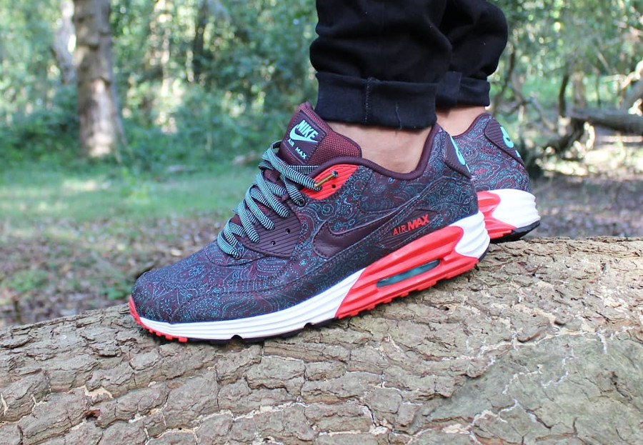 2014 - Nike Air Max Lunar90 QS Suit and Tie Infrared - @ryankicks_