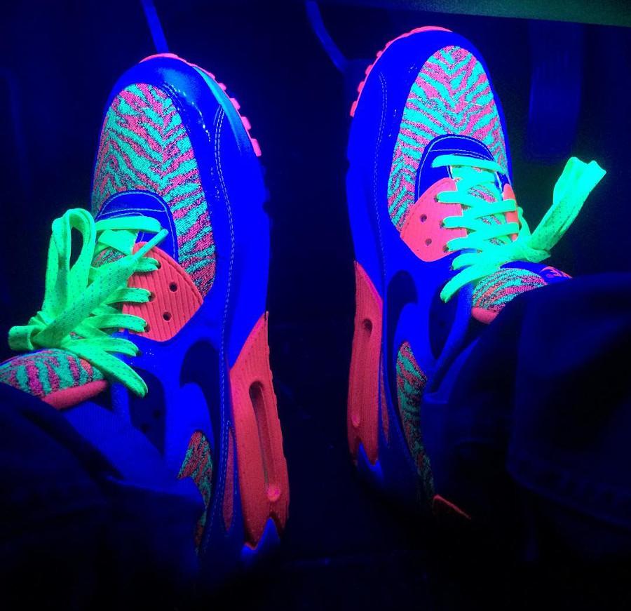 2015 - Nike Air Max 90 Flash Lime Infrared - @santimcam90