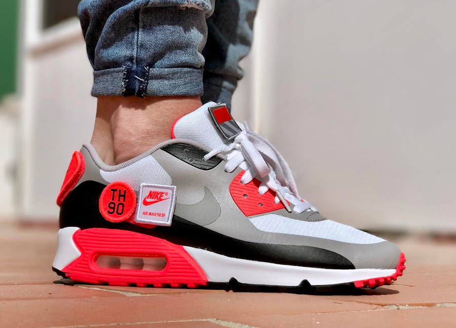 2015 - Nike Air Max 90 SP Patch Infrared - @yhlqmsdlp