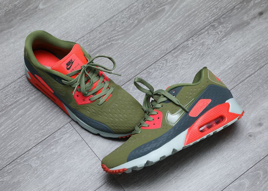 2015 - Nike Air Max 90 Ultra BR Infrared Scenery Green Bright - @rraagggg
