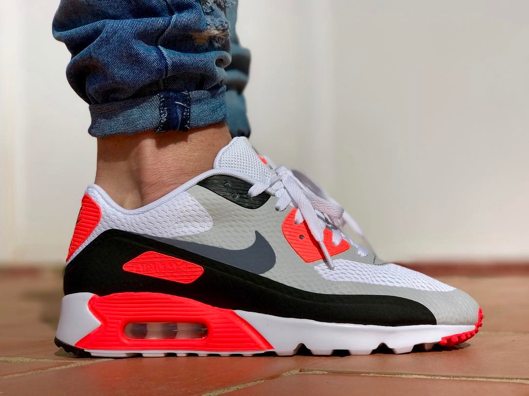 2015 - Nike Air Max 90 Ultra Essential Infrared - @yhlqmsdlp