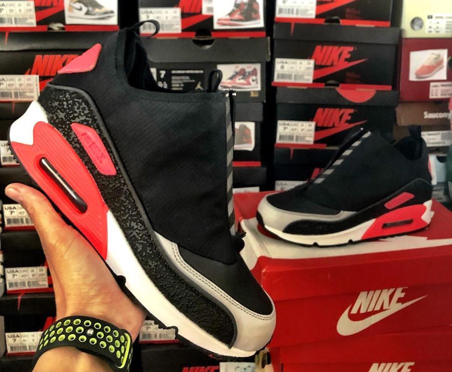 2016 - Nike Air Max 90 Utility Zip Infrared - @nakatagol
