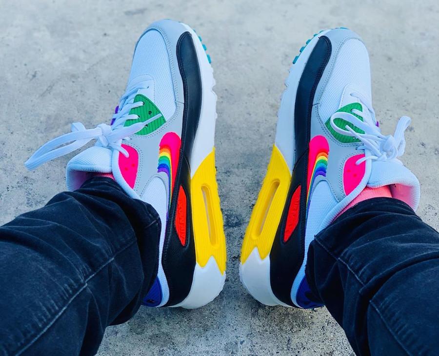 2019 - Nike Air Max 90 Betrue Rainbow Swoosh - @aandrewgram