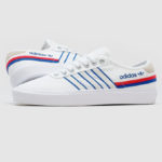 Adidas Delpala Cloud White Scarlet Royal Blue