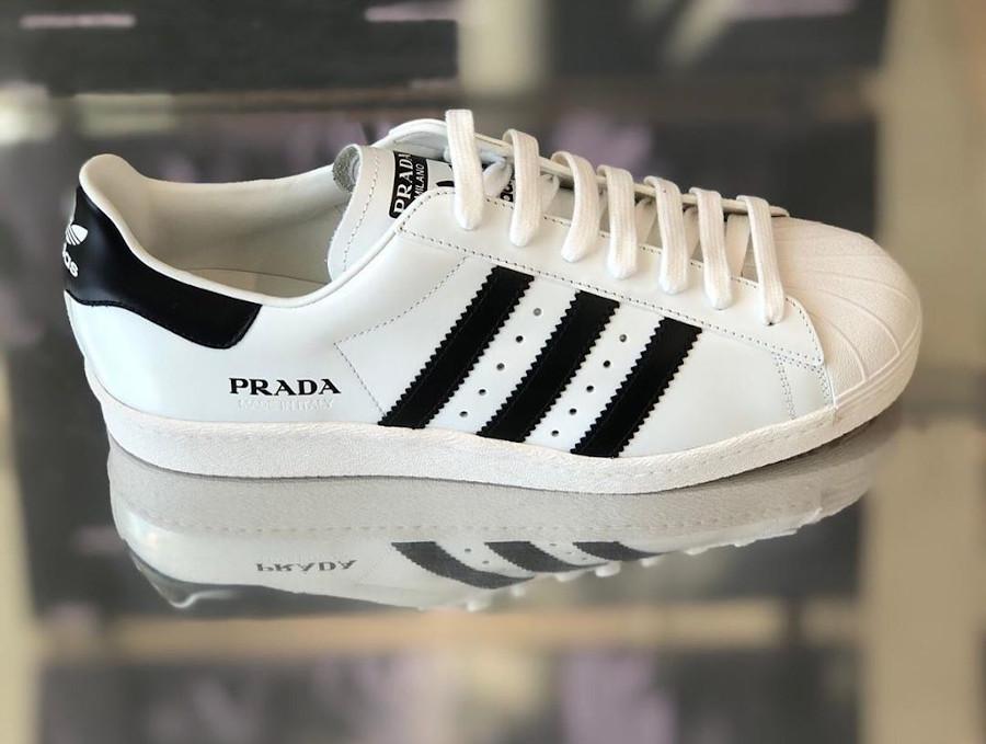 Adidas Originals Superstar blanche et noir FW6680 (1-1)