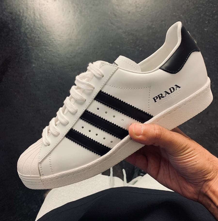 Adidas Originals Superstar blanche et noir FW6680 (2)