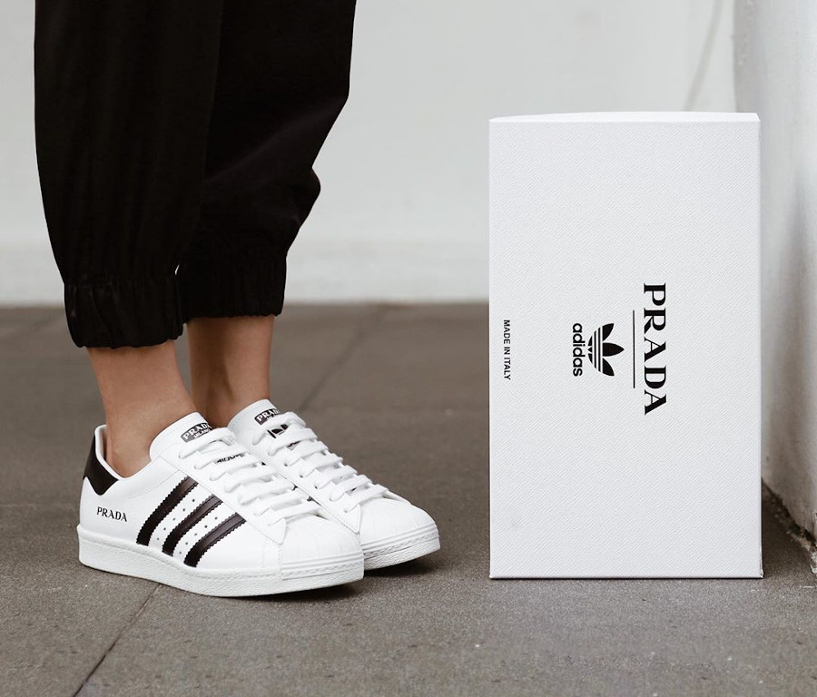 Adidas Originals Superstar blanche et noir FW6680 (3)