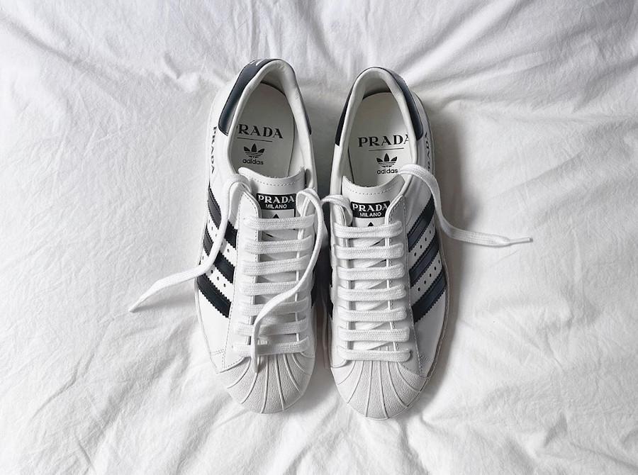 Adidas Originals Superstar blanche et noir FW6680 (4)