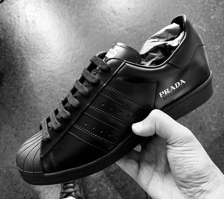 Adidas Originals Superstar noire FW6679 (1)
