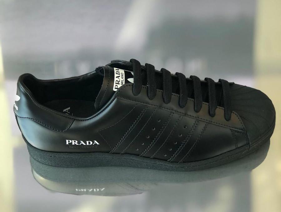 Adidas Originals Superstar noire FW6679