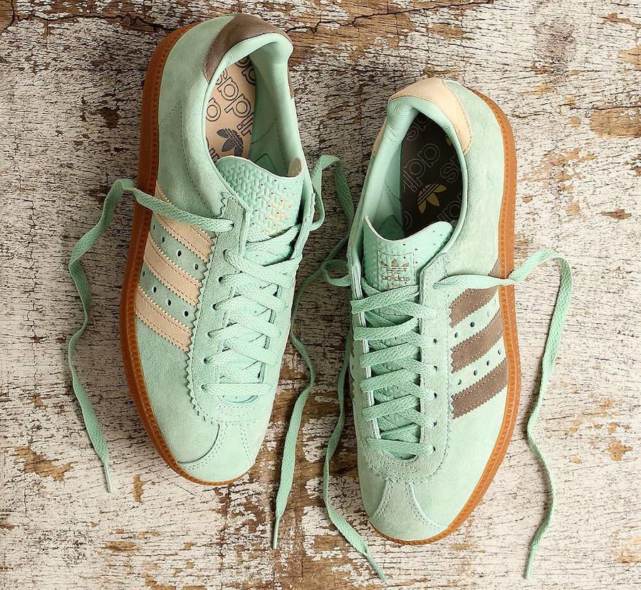Adidas Padiham 2020 en daim vert menthe (1)