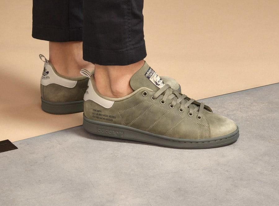 Adidas Stan Smith WNTR vert olive FZ3552