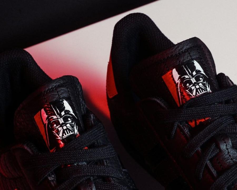 Adidas Superstar Darth Vader noire et rouge (3)