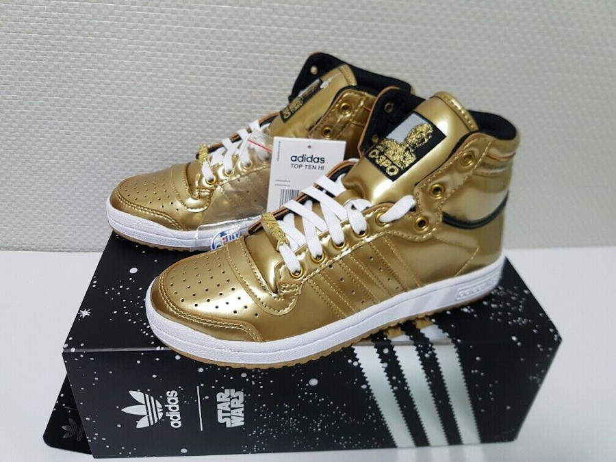 Adidas-Top-Ten-Hi-3CP0-dorée-or-métallique-FY2458