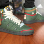 Star Wars x Adidas Top Ten Hi 'Boba Fett' Trace Green
