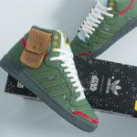 Star Wars x Adidas Top Ten Hi Boba Fett