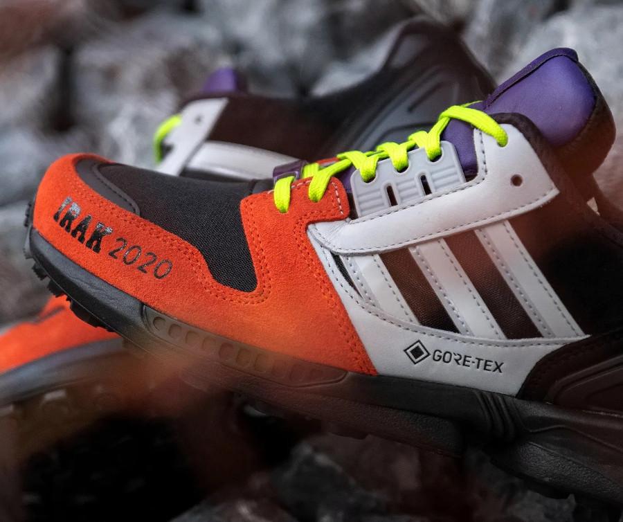 Adidas ZX 8000 noir gris orange fluo violet FX0372 (1)